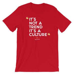 """CULTURED"" Short-Sleeve Unisex T-Shirt"