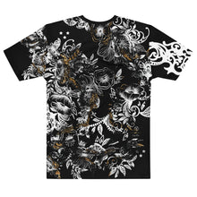 "Load image into Gallery viewer, ""Flower Power - Marbles"" Massive Print Unisex T-shirt"