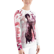 Load image into Gallery viewer, 'Save Me' featuring V from BTS - Women's L/S Ergonomic Sports Shirt