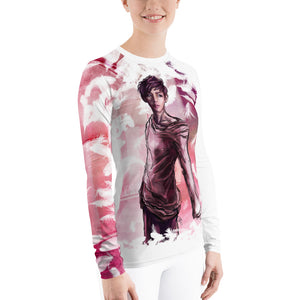 'Save Me' featuring V from BTS - Women's L/S Ergonomic Sports Shirt