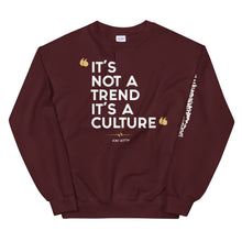 "Load image into Gallery viewer, ""CULTURED"" Unisex Sweatshirt"