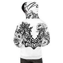 "Load image into Gallery viewer, Unisex ""Flower Power"" Massive Print Hoodie"