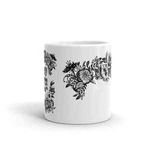 "Massive Print ""Flower Power"" Mug"