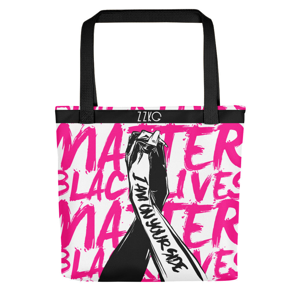 I AM ON YOUR SIDE - Tote bag in support of BLM