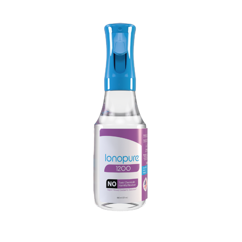 Ionopure 1200 - 600 ml (20 oz.) Spray Bottle