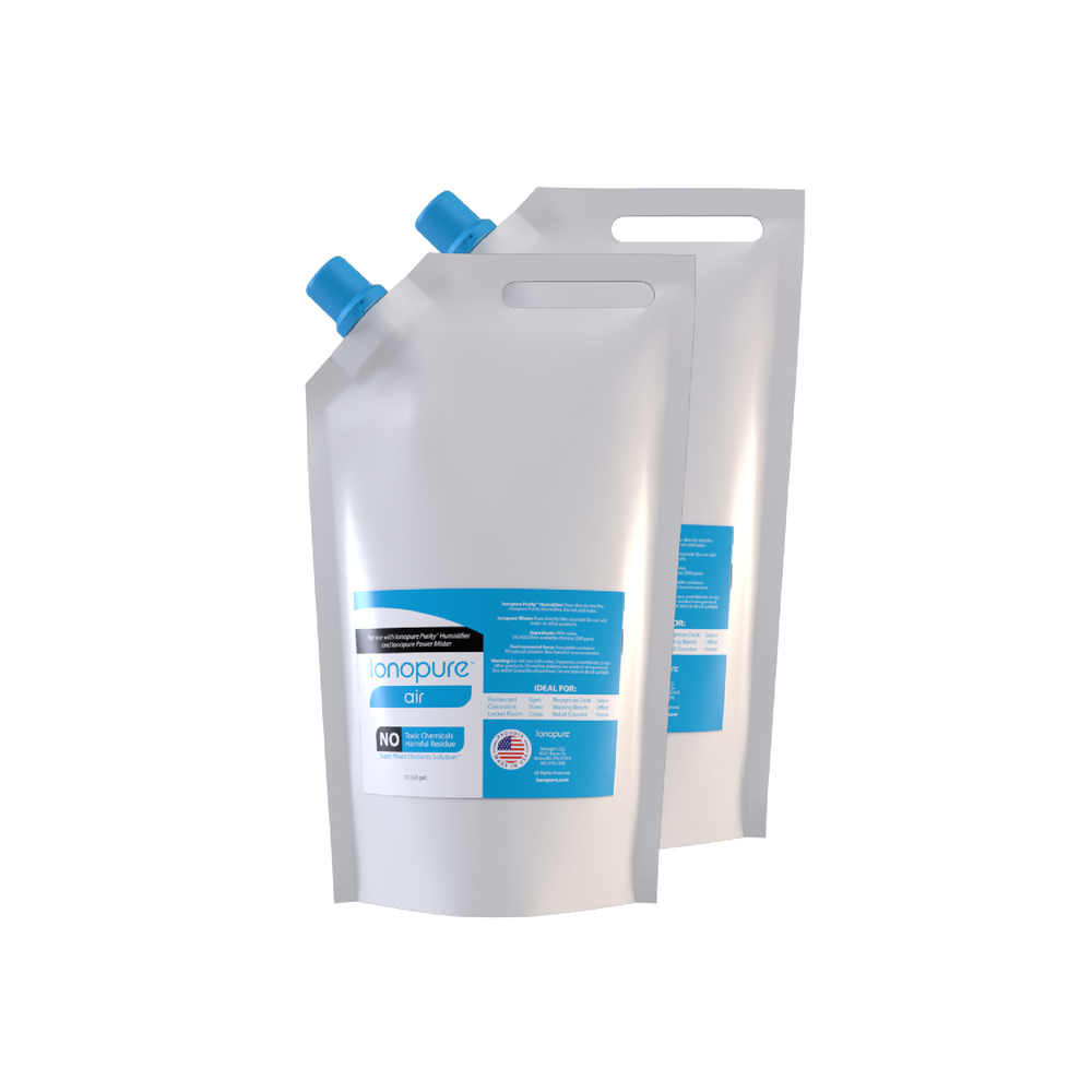 ionopure Air 2 pk. - 2 Liter Pouch (SUBSCRIPTION PLANS NOW AVAILABLE!)
