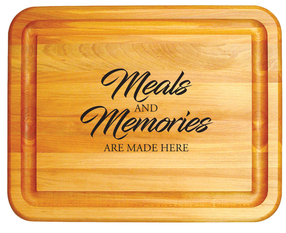 Meals and Memories Branded Board - Pot Racks Plus