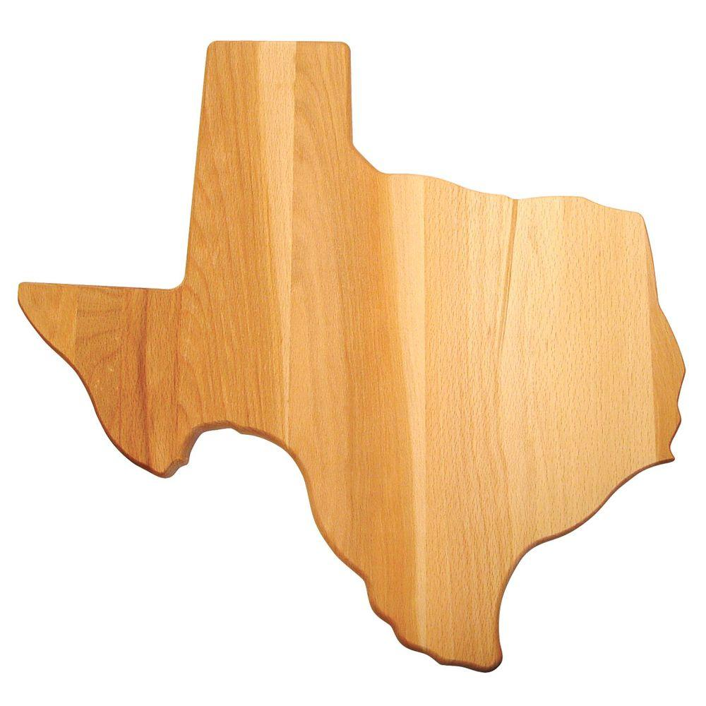 Texas Shaped Board, Single Board - Pot Racks Plus