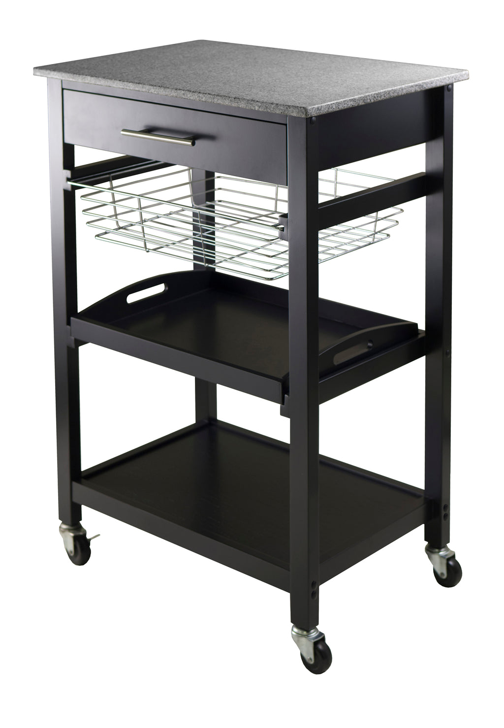 Julia Utility Kitchen Cart - Pot Racks Plus