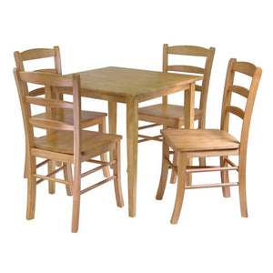 Groveland 5-Piece Dining Table With 4 Chairs - Pot Racks Plus