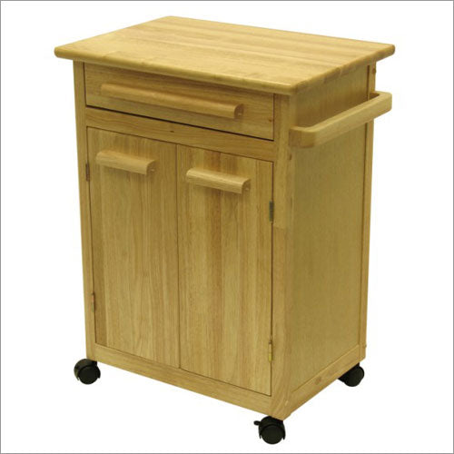 Kitchen Cart With One Drawer, Cabinet - Pot Racks Plus