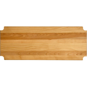 "Hardwood Cutting Board/shelf Insert, 35.125""x13.3125""x1"" - Pot Racks Plus"