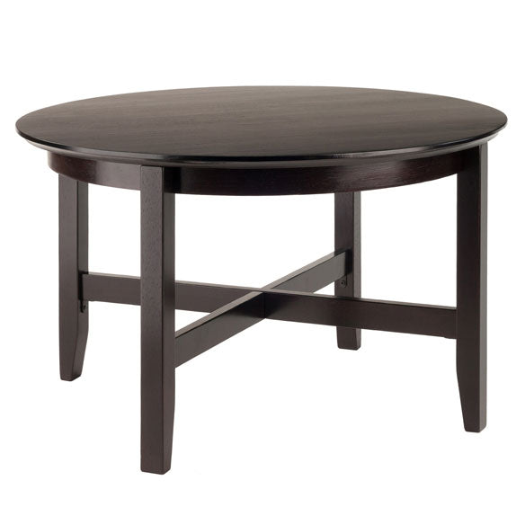 Toby Coffee Table in Espresso Finish - Pot Racks Plus