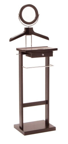 Valet Stand With Wood Base - Pot Racks Plus