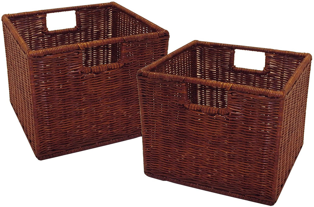Leo Set Of 2, Wired Basket, Small - Pot Racks Plus