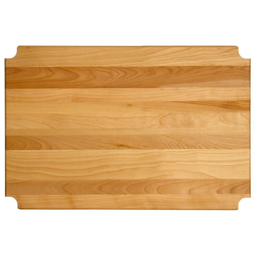 Hardwood Cutting Board/shelf Insert, 35.125 in. X 23.3125 in. X 1 in. - Pot Racks Plus