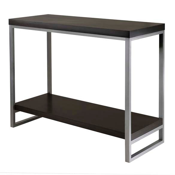 Jared Console Table, Enamel Steel Tube - Pot Racks Plus