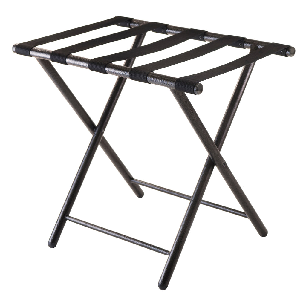 Tavin Luggage Rack, Folding Straight Leg - Pot Racks Plus