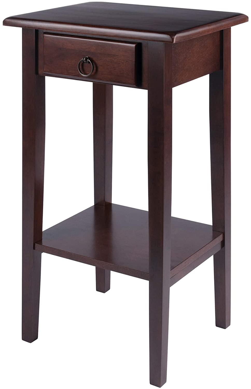 Regalia Accent Table With Drawer, Shelf - Pot Racks Plus