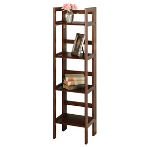 4-Tier Folding Shelf, Narrow - Pot Racks Plus