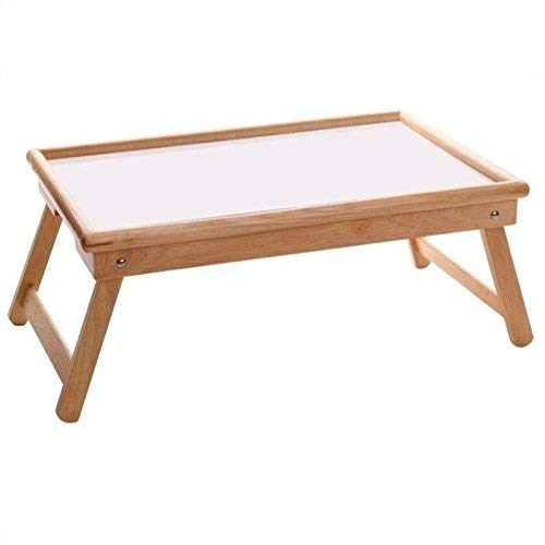 Breakfast Bed Tray, Flip Top, Foldable Legs - Pot Racks Plus