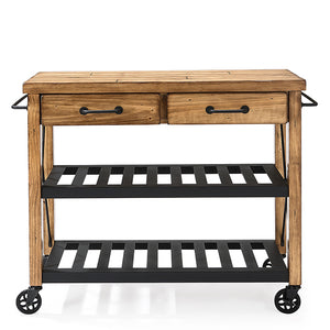 Roots Rack Industrial Kitchen Cart - Pot Racks Plus