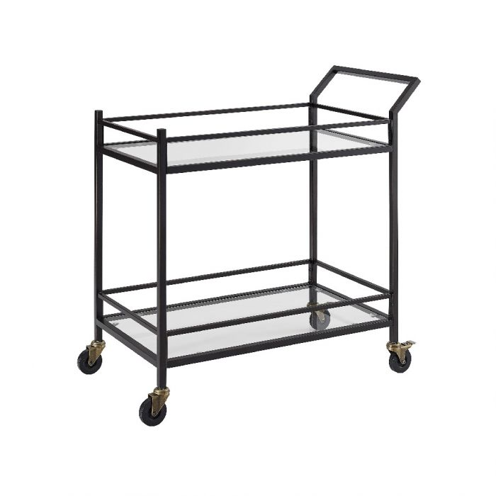 Aimee Bar Cart, Bronze