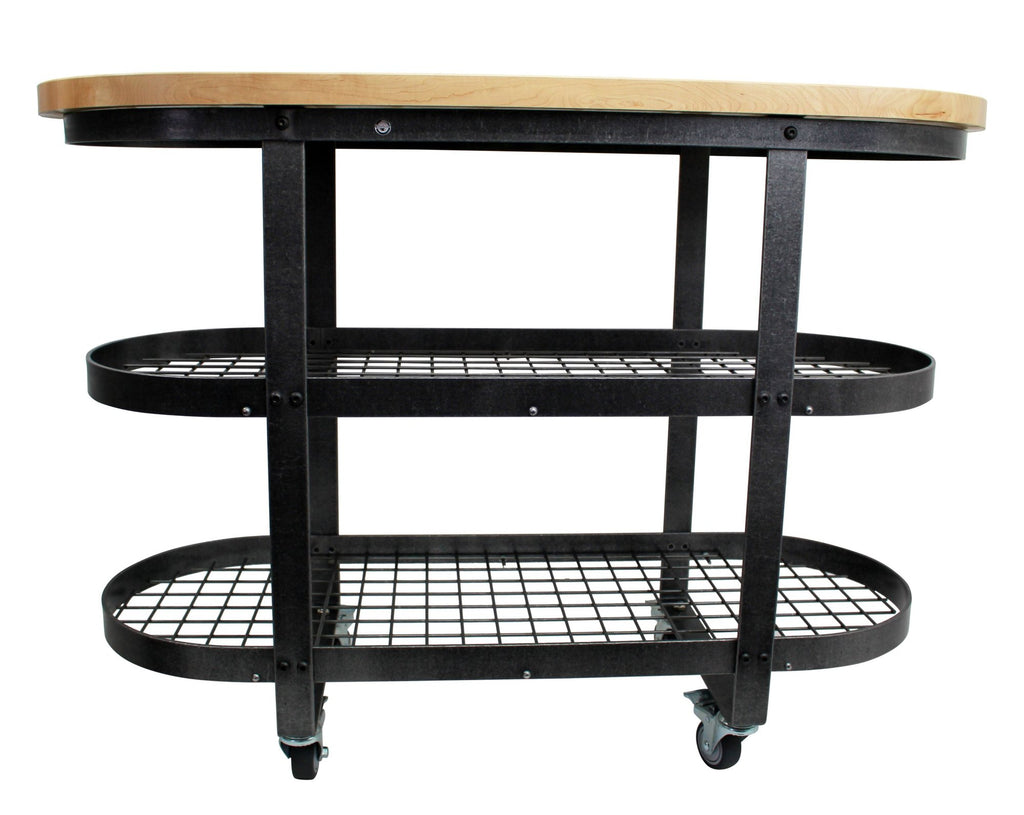 Gourmet Stand Hammered Steel - Pot Racks Plus