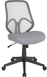 Salerno Series High Back Light Gray Mesh Office Chair