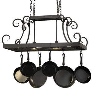 "42.5""L Caiden Pot Rack - Pot Racks Plus"