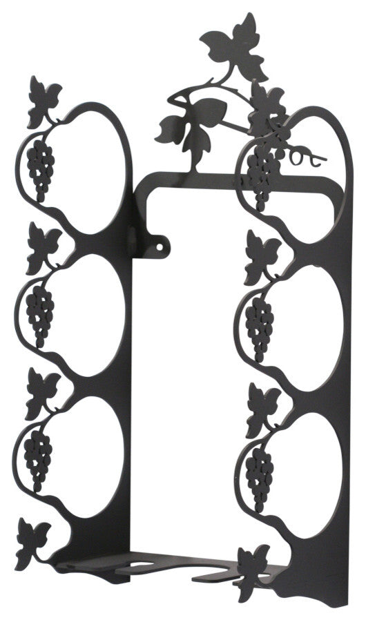 Grapevine Wine Rack, Wall Mount, Small