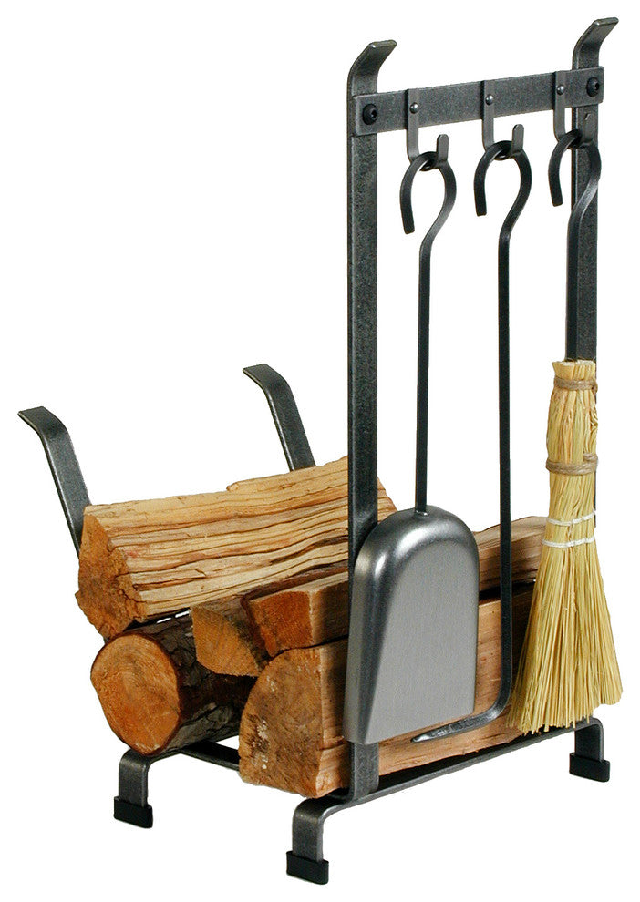 Premier Country Home Log Rack With Tools - Pot Racks Plus