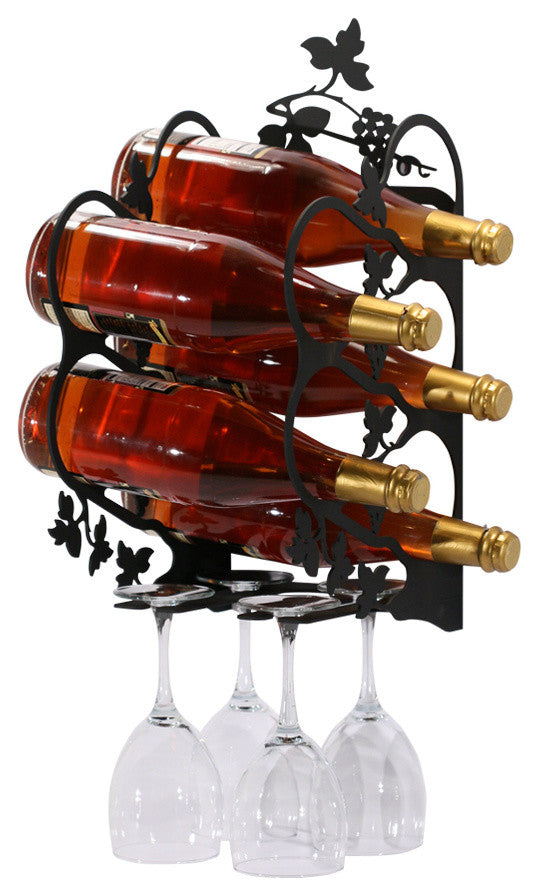 Grapevine Wine Rack, Wall Mount, Medium