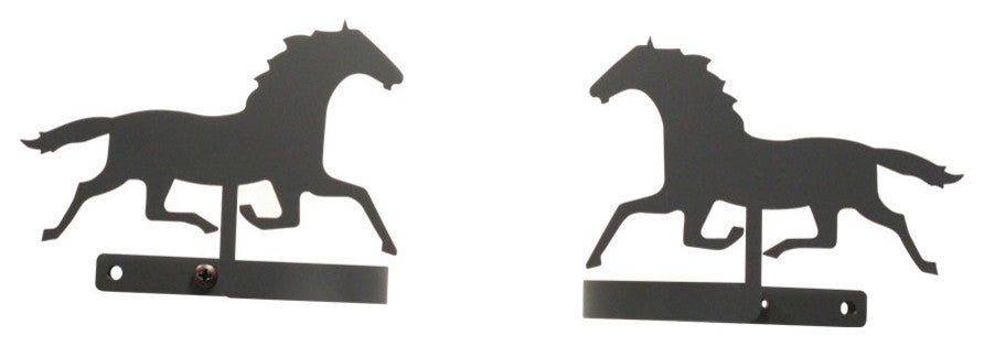 Running Horse, Curtain Tie Backs