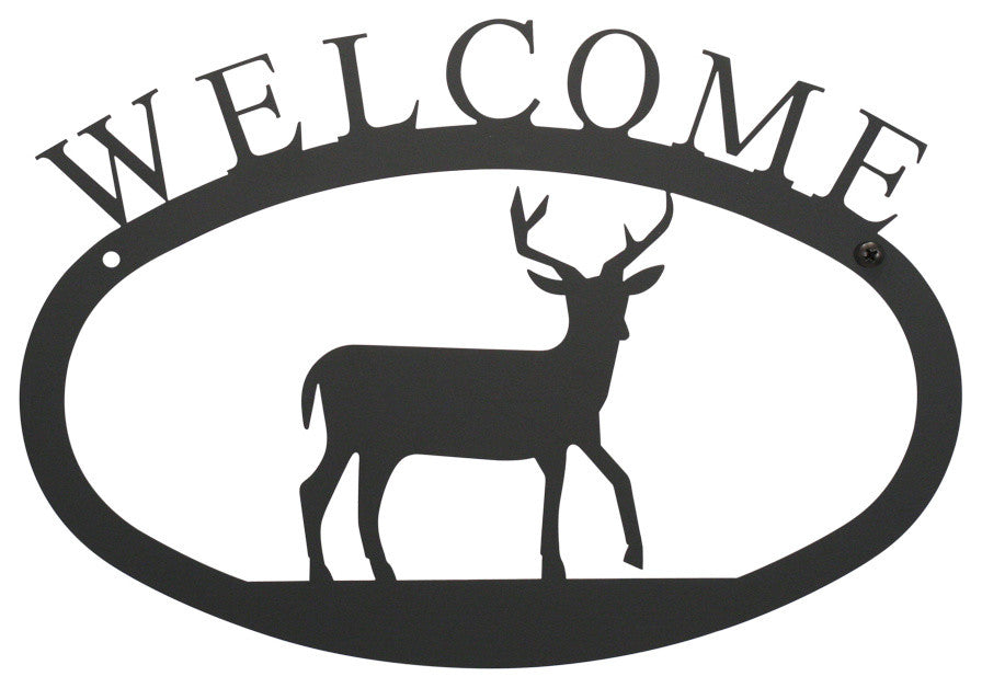 Welcome Sign, Small, Deer