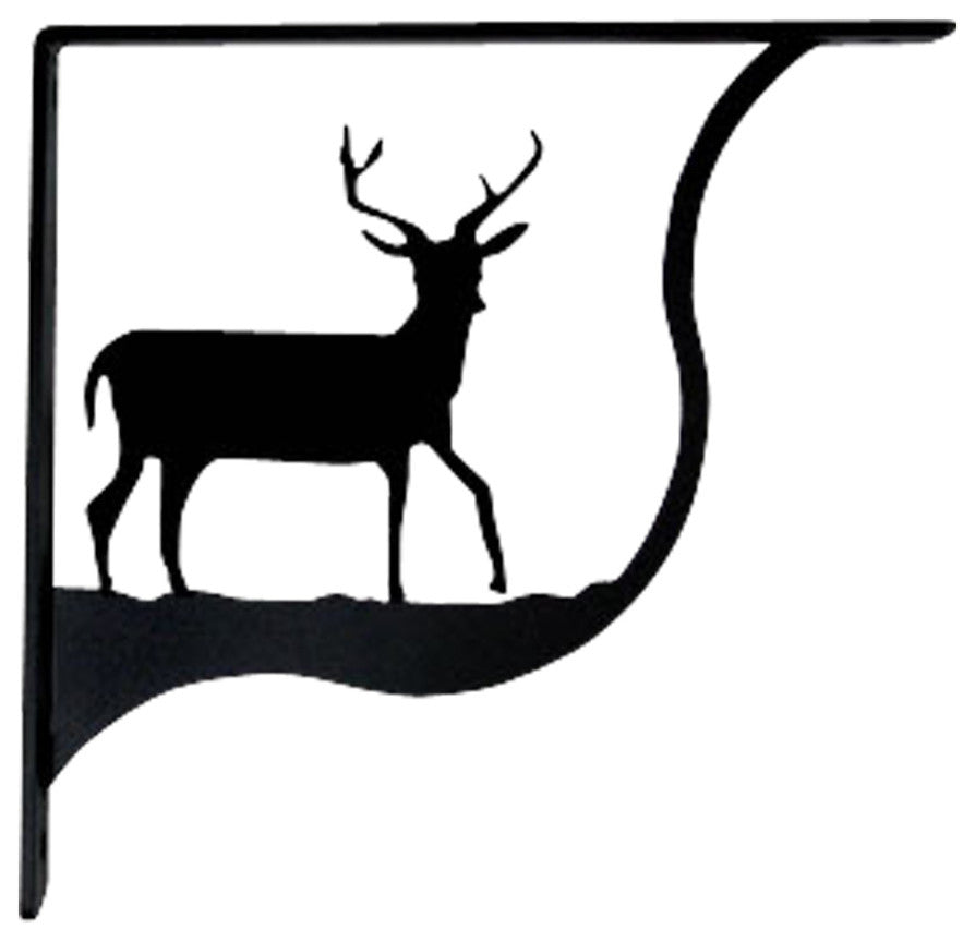 Deer Shelf Brackets, Large