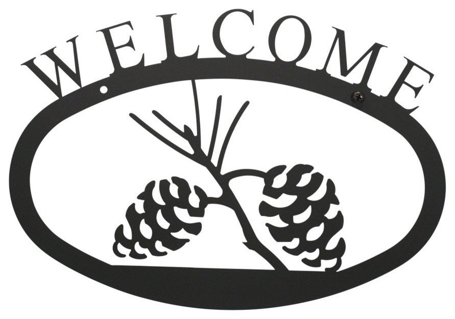 Welcome Sign, Large, Pinceone