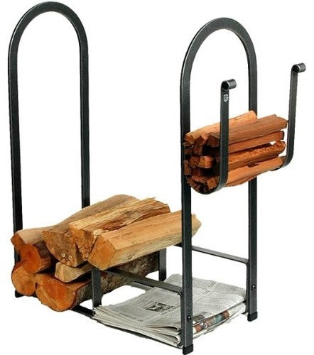 Premier Large Fire Center Log Rack - Pot Racks Plus