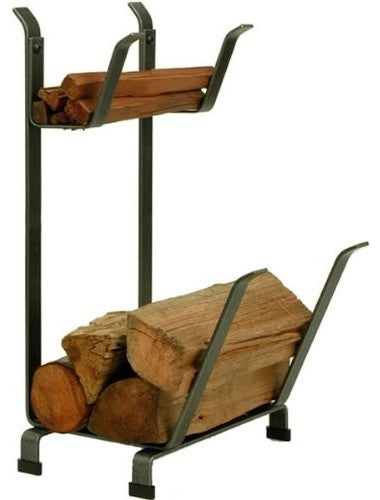 Premier Country Home Log Rack With Kindling Holder - Pot Racks Plus
