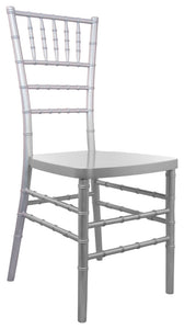 Advantage Silver Resin Chiavari Chair