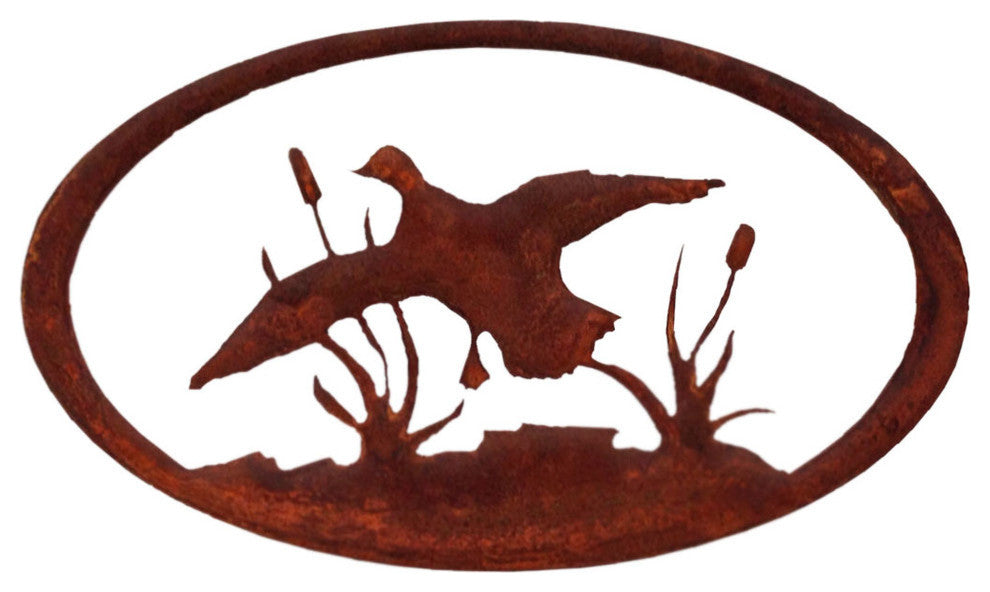 Duck Oval-Rust Patina - Pot Racks Plus