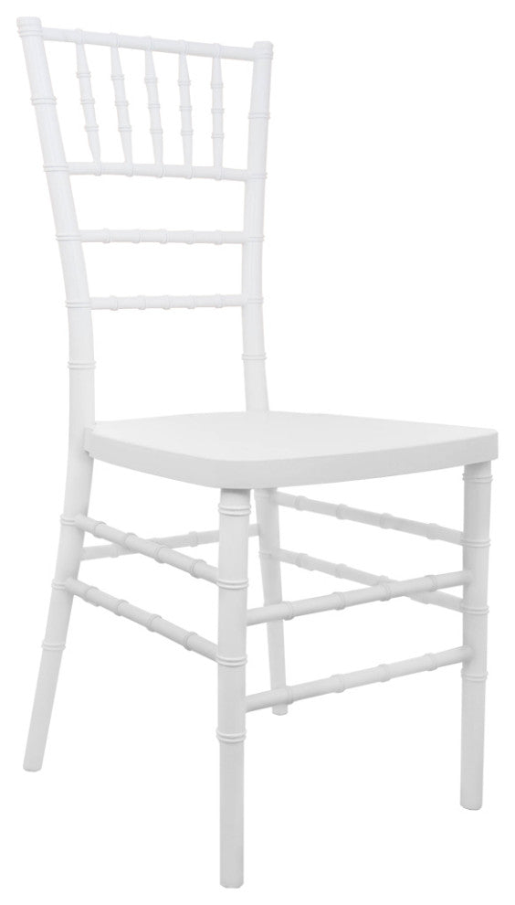 Advantage White Resin Chiavari Chair