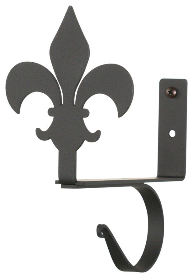Fleur-de-lis, Curtain Shelf Brackets