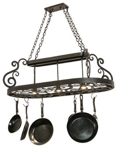 "48"" Long Neo Pot Rack - Pot Racks Plus"