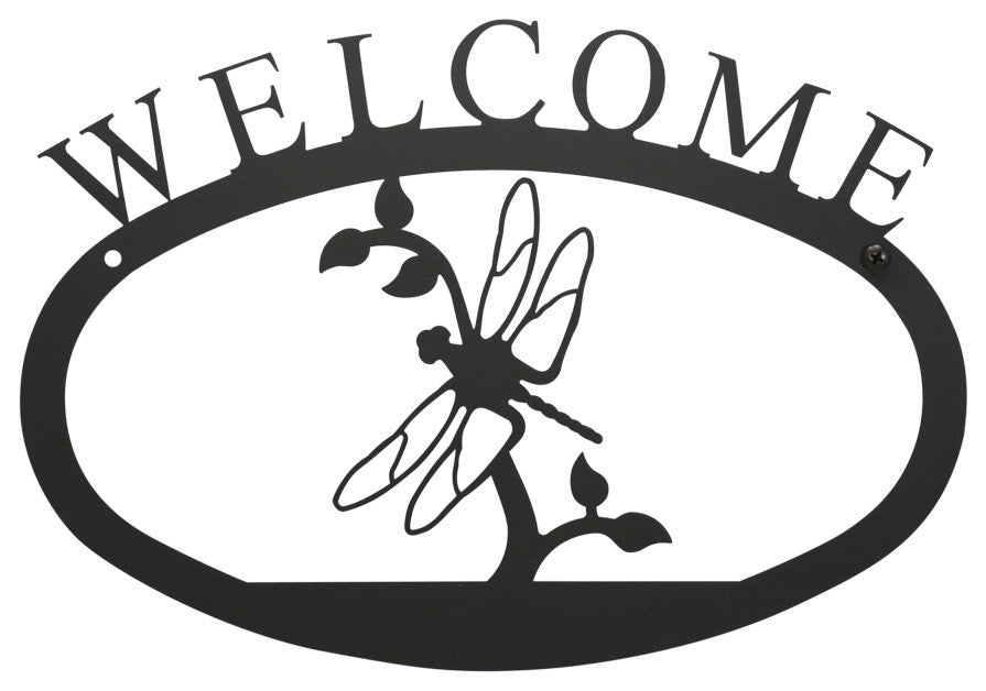 Welcome Sign, Smallall, Dragonfly