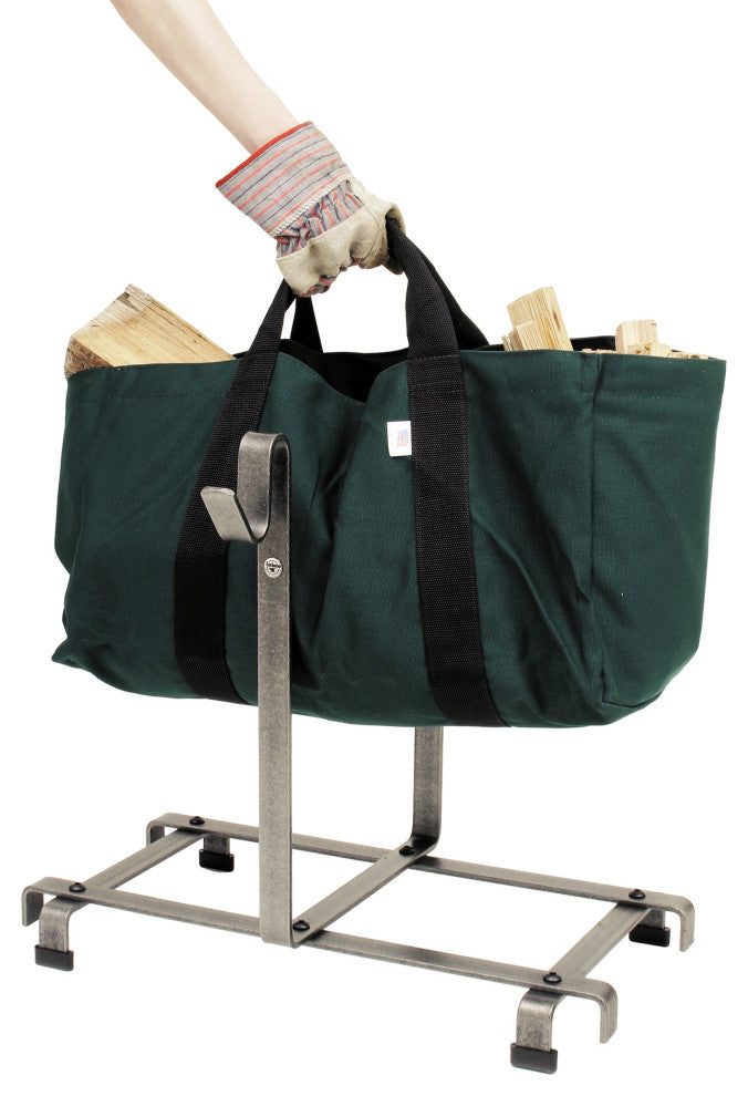 Premier Log Carrier Bag and Log Rack - Pot Racks Plus