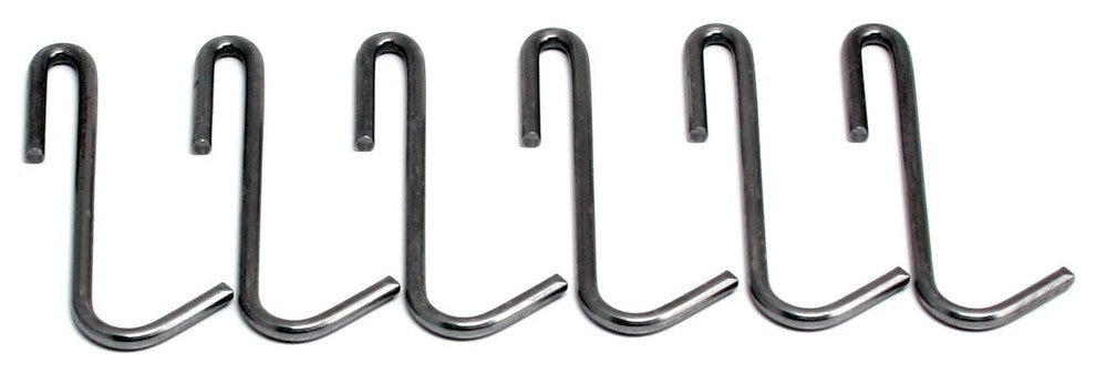 6 Essentials Pot Hook, Hammered Steel - Pot Racks Plus