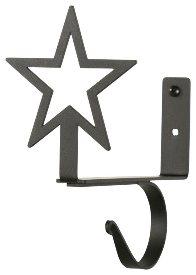 Star, Curtain Shelf Brackets