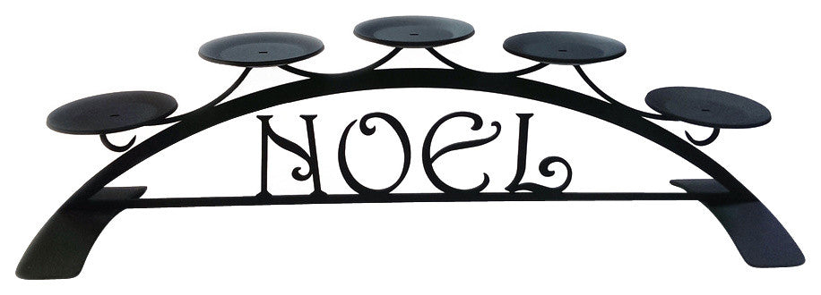 Noel, Table Top Pillar Candle Holder - Pot Racks Plus