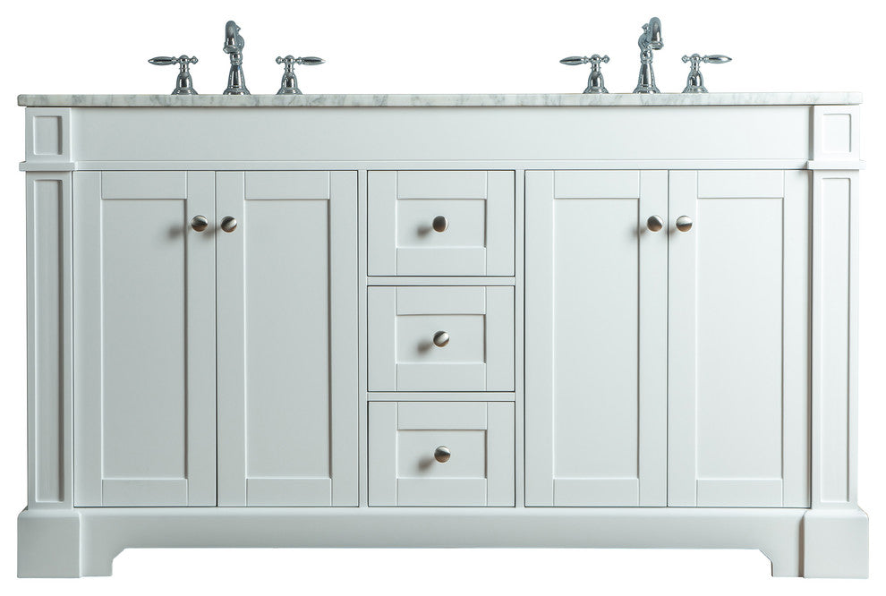 "Marla Sink Bathroom Vanity With Mirror, Gray, 30"" - Pot Racks Plus"